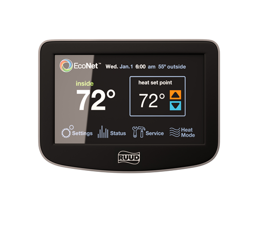 Ruud_Econet thermostats